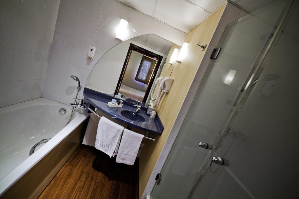 Novotel Suites Clermont Ferrand Polydôme Apparthotels Clermont - Salle de bain clermont ferrand