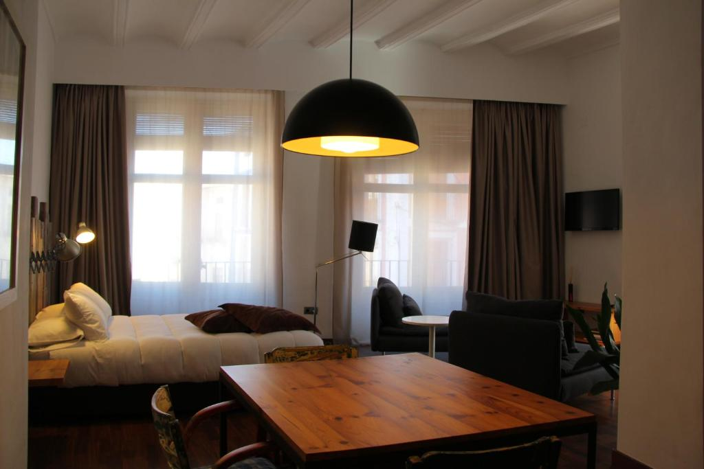 las coles apartasuites, apartments xàtiva