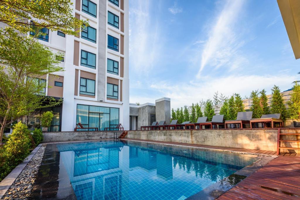 S park design hotel vientiane online booking viamichelin for Hotel booking design