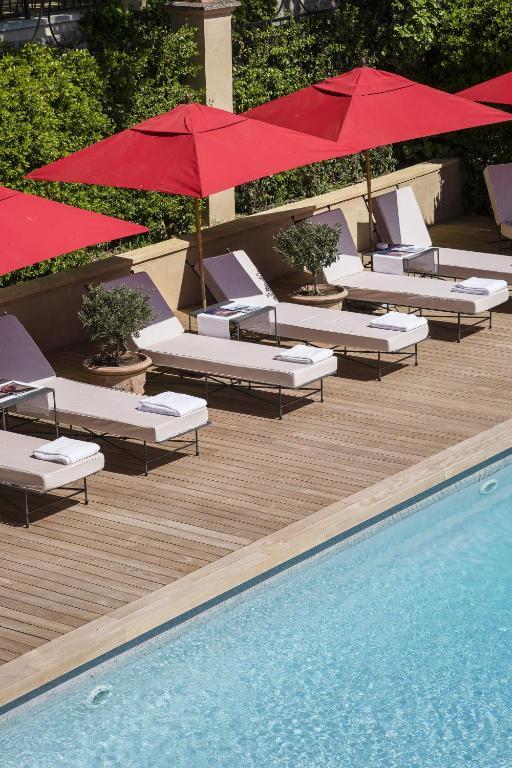 villa gallici h tel spa aix en provence. Black Bedroom Furniture Sets. Home Design Ideas