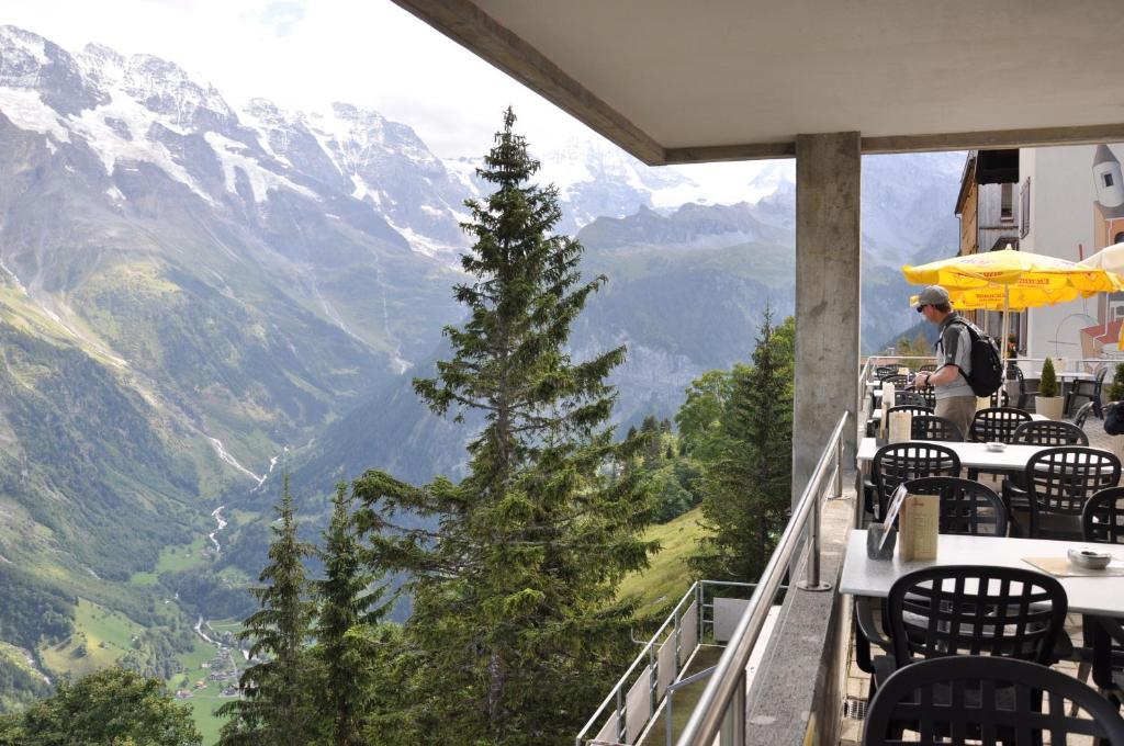 Hotel Alpina Lauterbrunnen Online Booking ViaMichelin - Hotel alpina murren switzerland