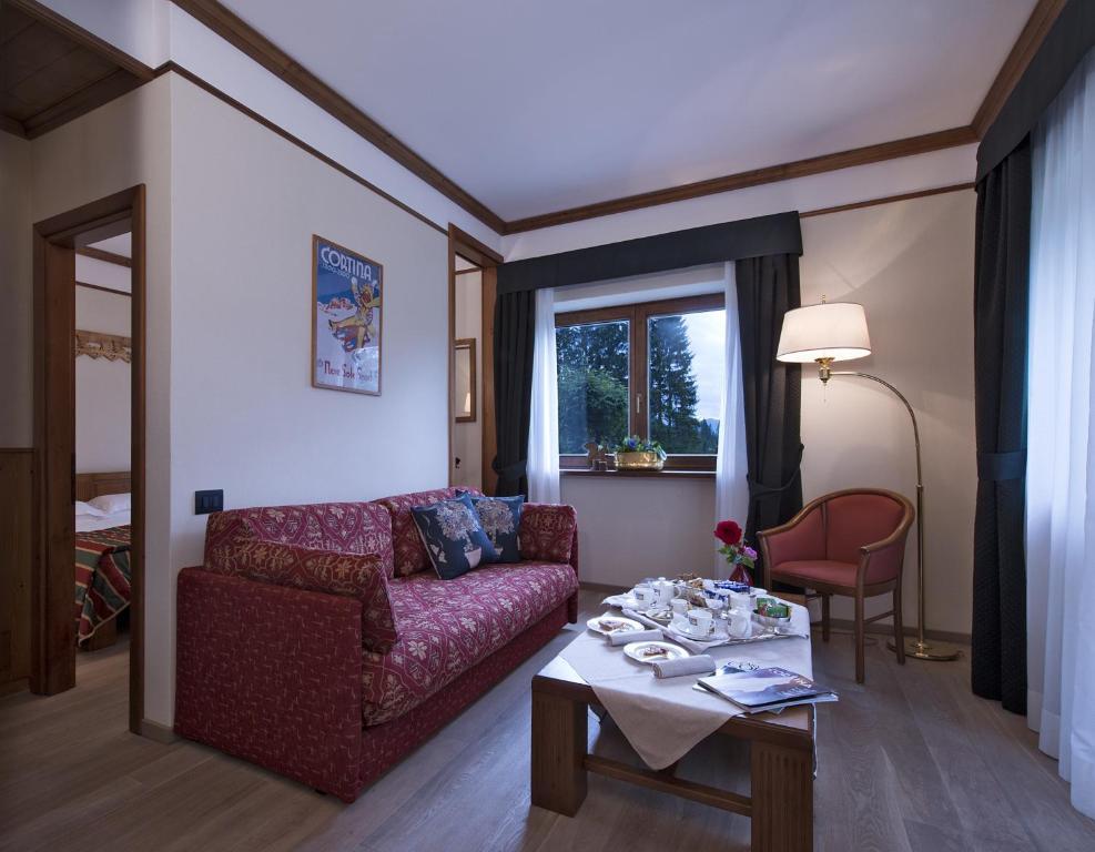 Boutique hotel villa blu cortina r servation gratuite sur viamichelin - Cortina boutique ...