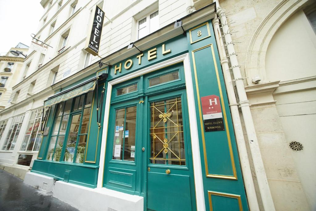 Hotel cluny sorbonne paris informationen und buchungen for Hotel design sorbonne paris 75005