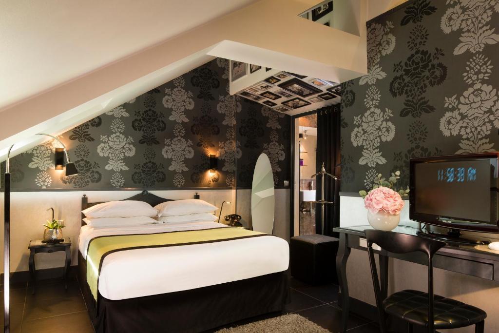 Hotel design sorbonne r servation gratuite sur viamichelin for Design hotel de la sorbonne
