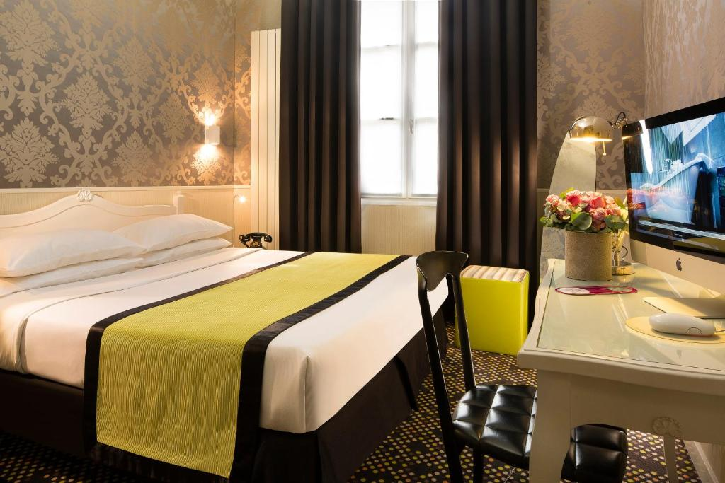 Hotel design sorbonne r servation gratuite sur viamichelin for Hotel design sorbonne paris 75005