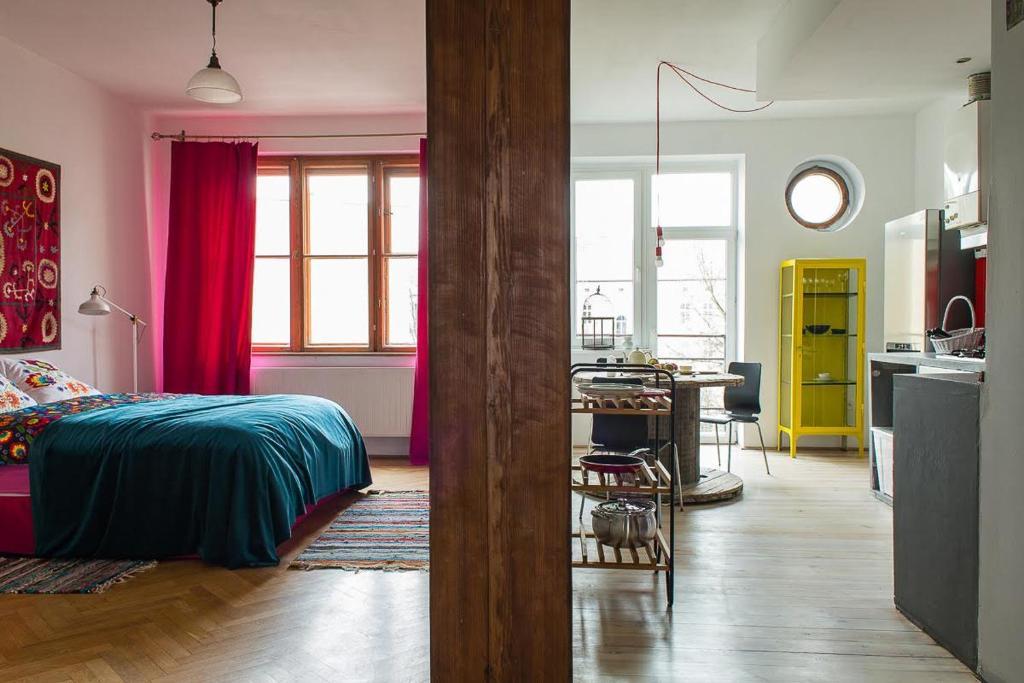 Boho Style Apartment, Wohnung Krakow