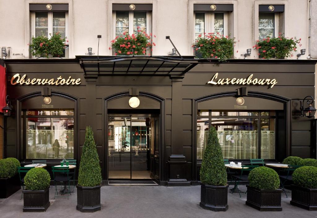 Hotel observatoire luxembourg r servation gratuite sur - Petit jardin restaurant luxembourg le mans ...