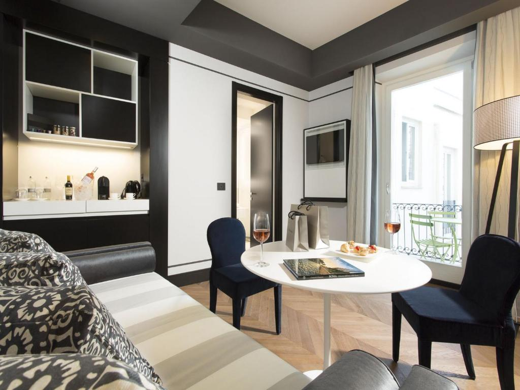 Corso 281 luxury suites rome viamichelin informatie for Hotel corso 281 luxury suites rome