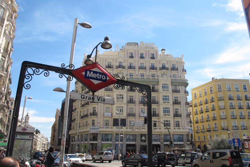 Gran Via Sol Valverde Parking Gratis Wohnungen Madrid