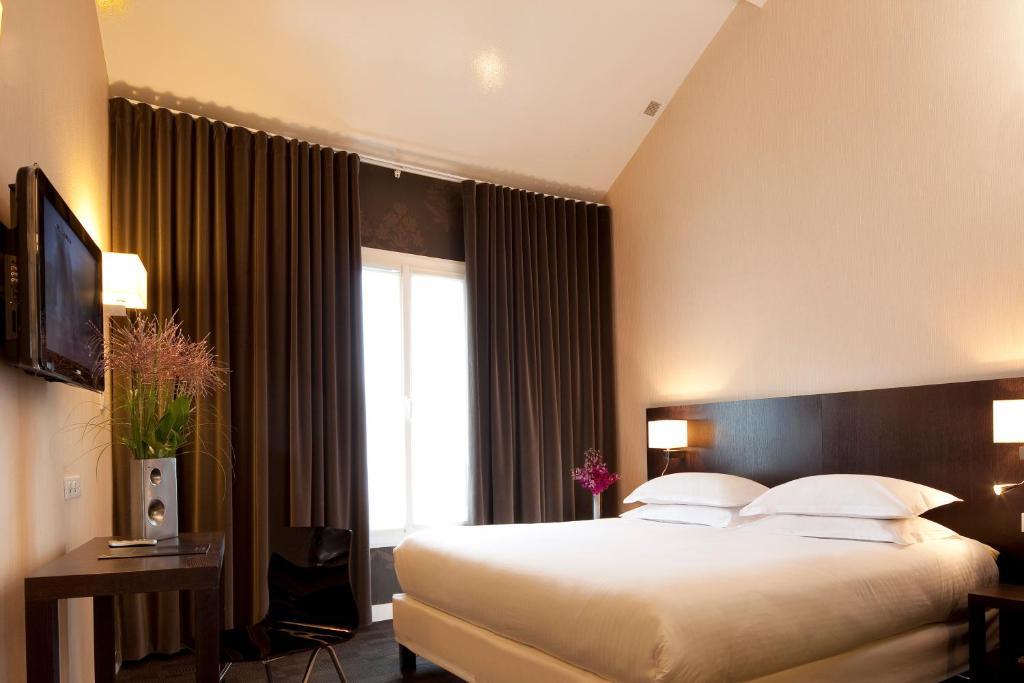 Best western bretagne montparnasse paris viamichelin for Ideal hotel montparnasse