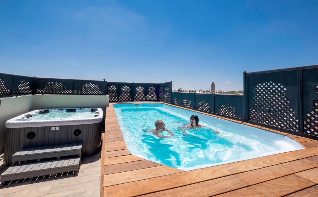 Riad Nesma Suites & Spa - Chambres d\'hôtes à Marrakech (Maroc)