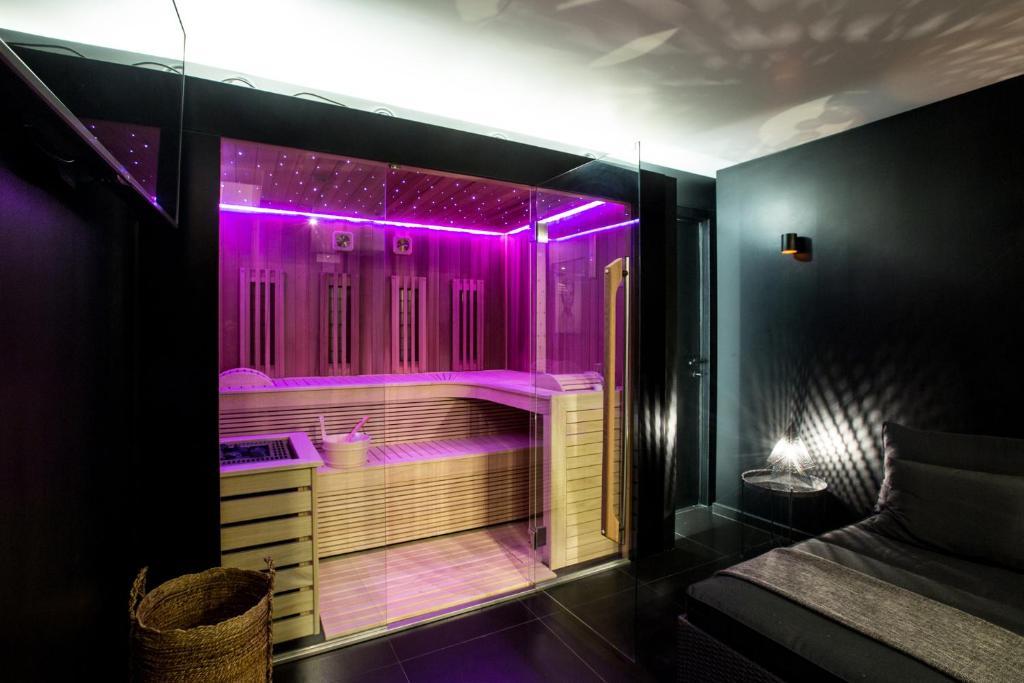 Chambre Avec Spa Sauna Privatif Apartment Brussels
