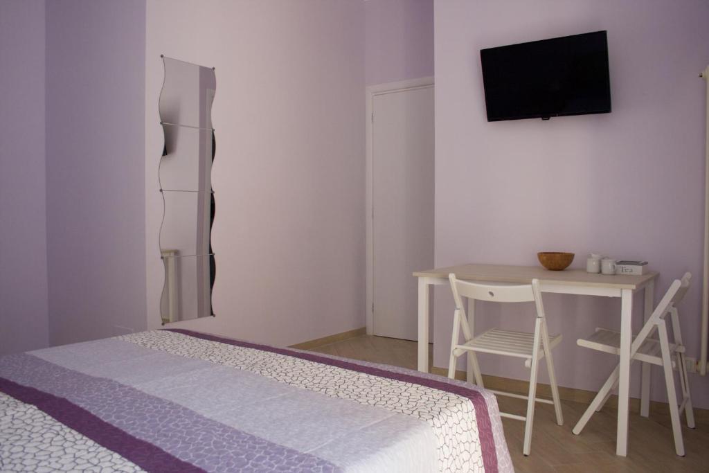 Camera con bagno privato tina teo gästezimmer torino