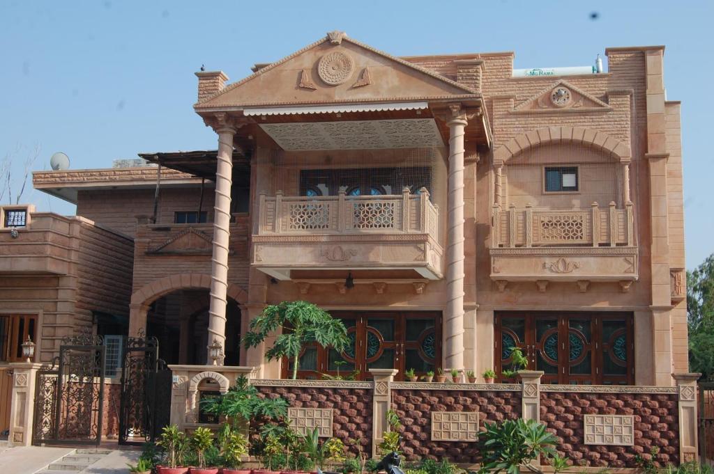 jodhpurs Mansion english