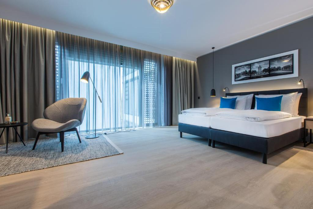 radisson blu hotel mannheim mannheim informationen und buchungen online viamichelin. Black Bedroom Furniture Sets. Home Design Ideas