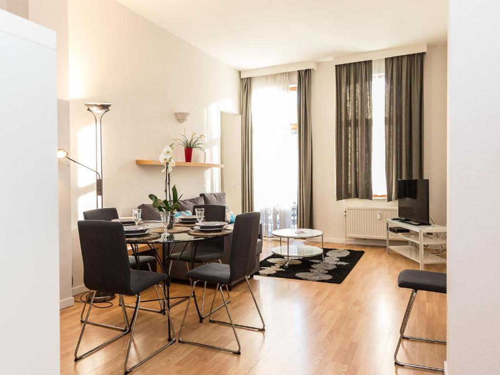 Patriotes Halldis Apartments, Wohnungen Brussels