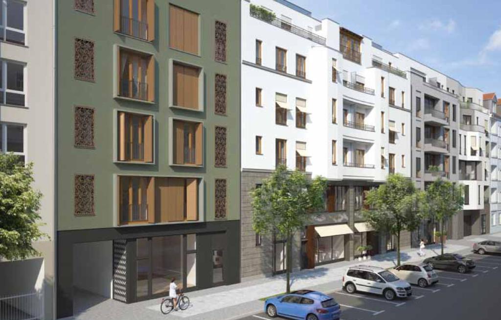 Modern design apartment r servation gratuite sur viamichelin for 4 design hotel q berlin