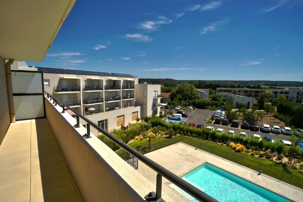 Appart 39 h tel avignon campus del sol r servation gratuite for Reserver un appart hotel