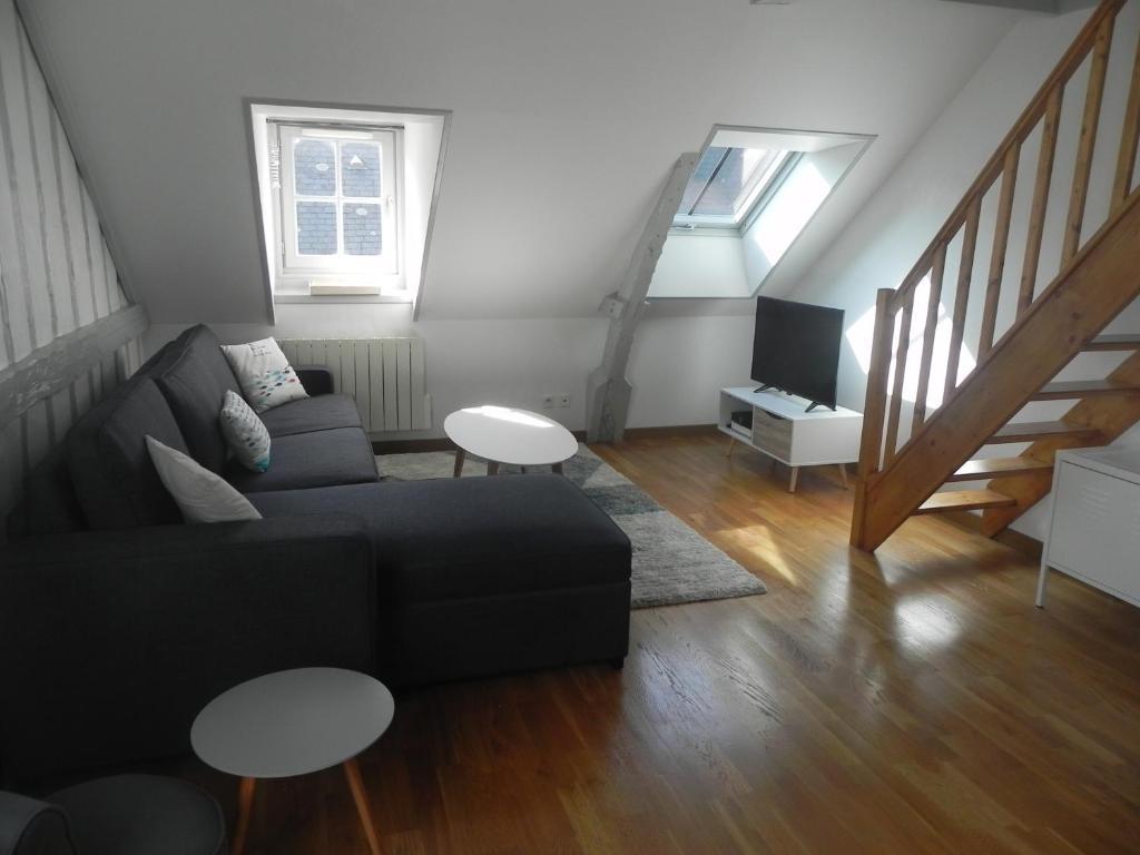 Appartement rue haute, Appartement Honfleur