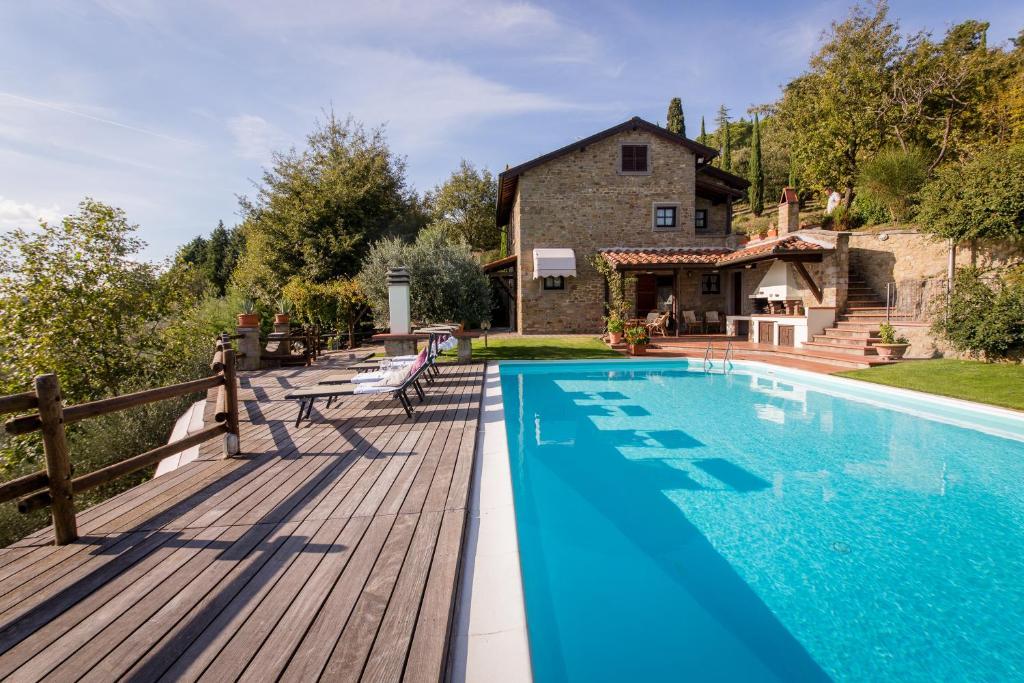 Villa La Foce, Villas Castiglion Fiorentino