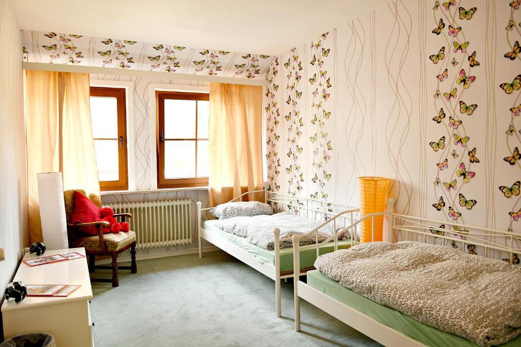 Pension Hillmers Hoff, Gästezimmer Wesel