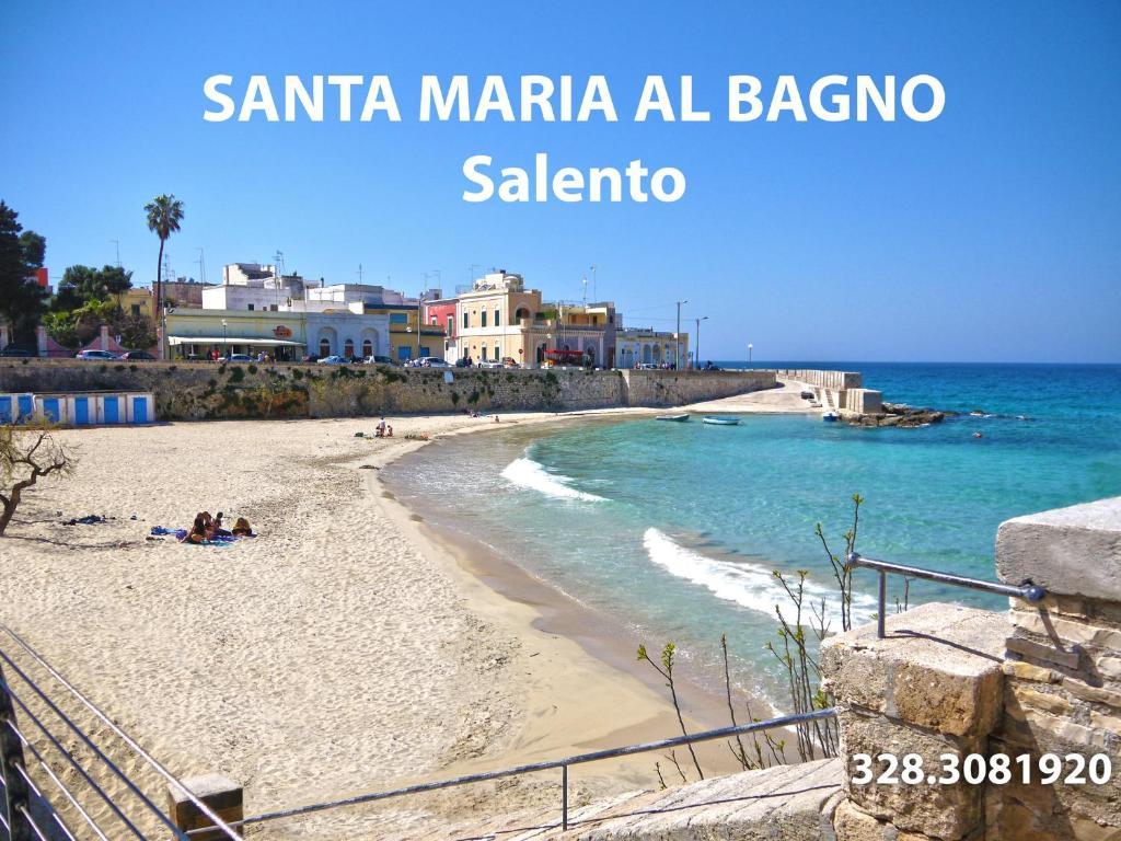 Santa Maria A Bagno.Casa Vacanza Salento Apartment Santa Maria Al Bagno
