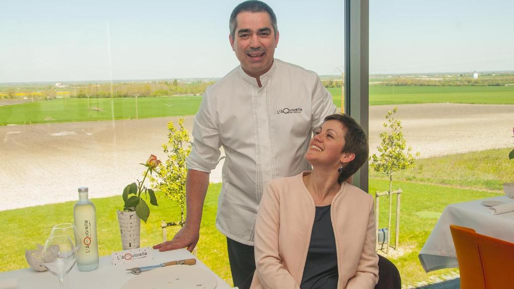 Le Chef L Aquarelle Xavier Taffart Restaurant Etoile Michelin