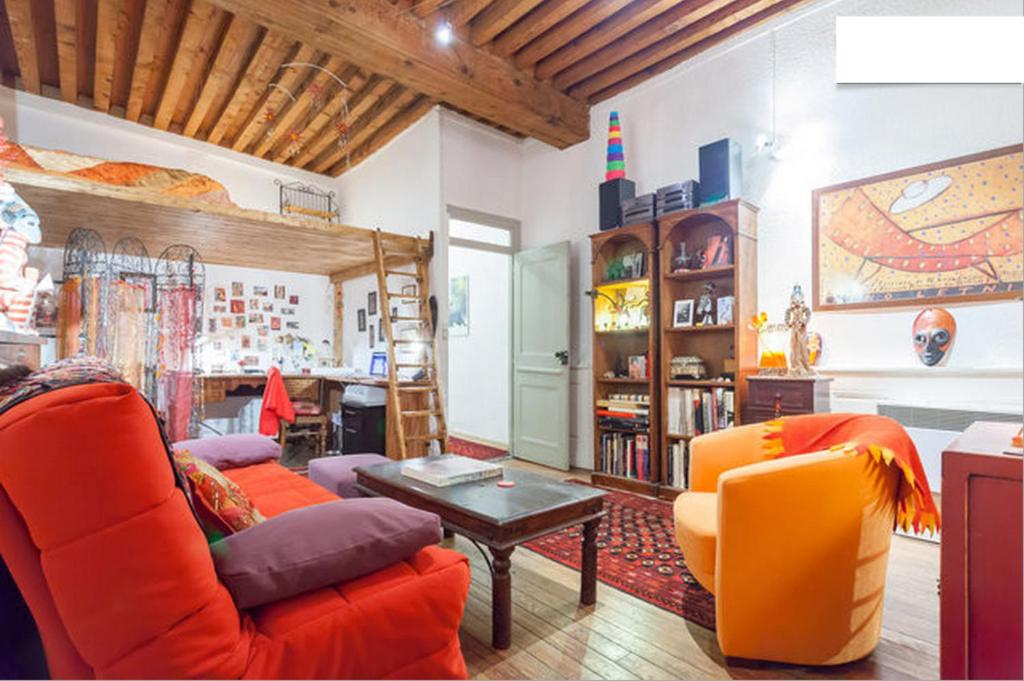 Salon Et Mezzanine Lyon Centre Chambre Chez LHabitant Lyon