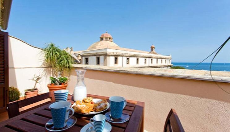 Terrazza sul mare Dar el Kalsa, Holiday home Palermo