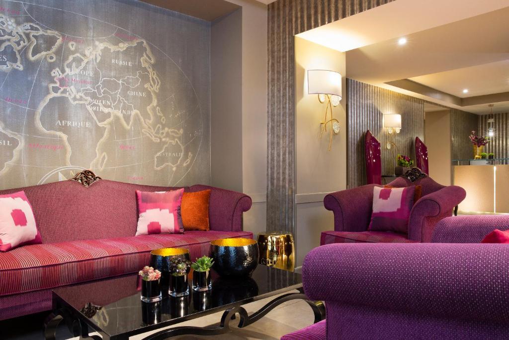 hotel mondial paris. Black Bedroom Furniture Sets. Home Design Ideas