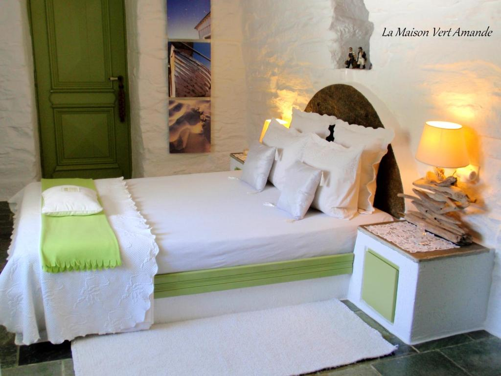 La Maison Vert Amande, Chambre d\'hôtes Spathi