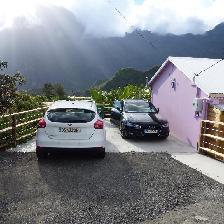 Le bas de cilaos la plaine des palmistes informationen for Route nationale 104