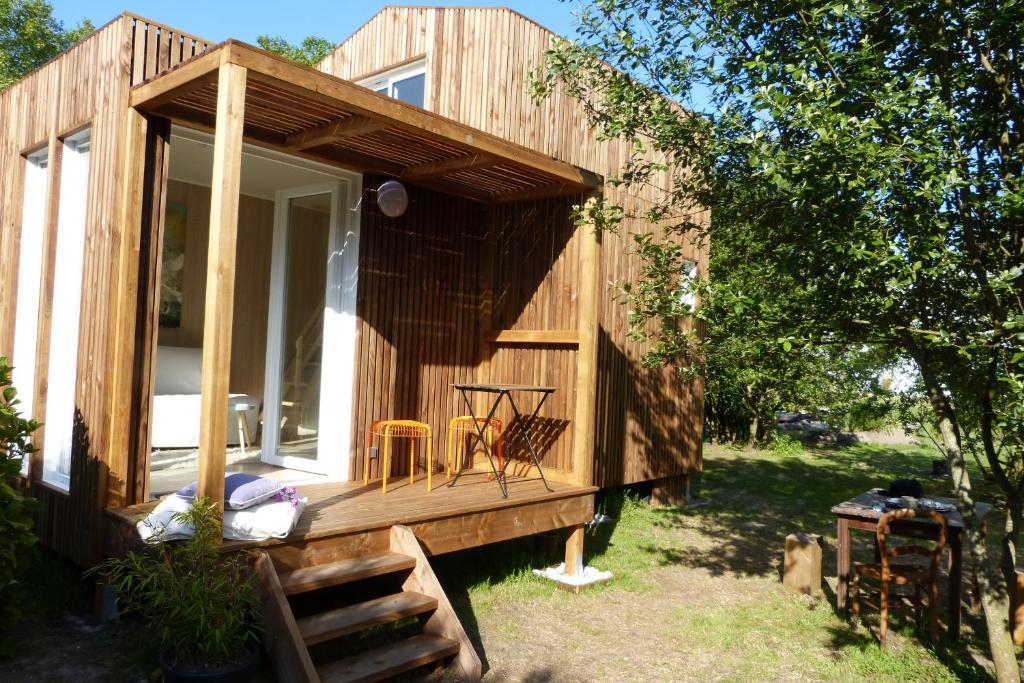 Petite Maison Contemporaine, Ferienhaus Saubion