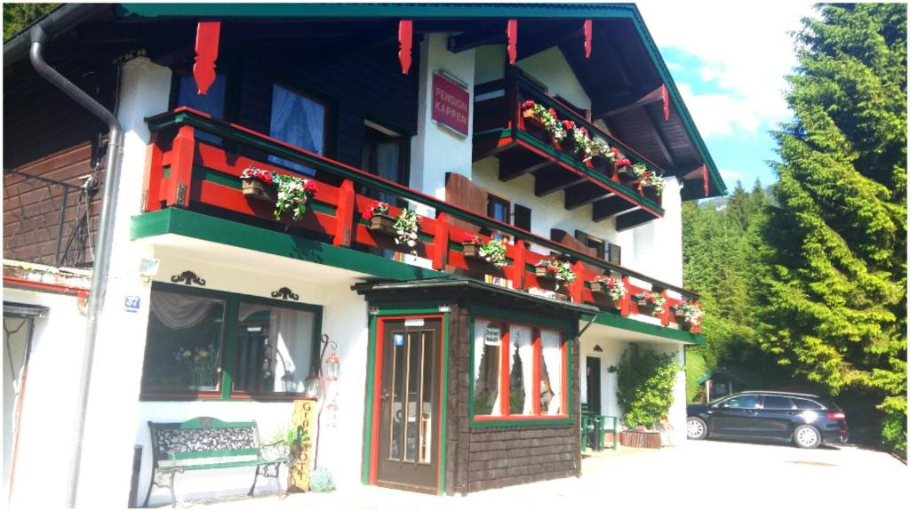Traditioneel Chinees Bed : Pension kappen bed breakfast weißbach
