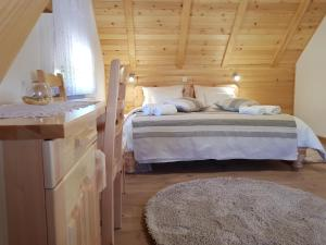 Guesthouse Green Valley, Penzióny  Jezerce - big - 5