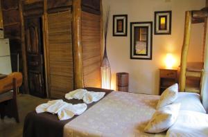 Loma Escondida Apart Cabañas & Spa, Lodges  Villa Gesell - big - 4