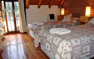 Loma Escondida Apart Cabañas & Spa, Lodges  Villa Gesell - big - 3
