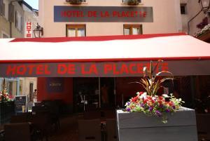 Hotel de la Placette Barcelonnette, Hotels  Barcelonnette - big - 86