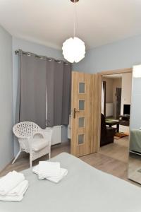 Light Rooms Apartment, Apartments  Kraków - big - 91