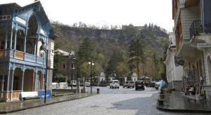 Borjomi Aprili Apartment, Apartmány  Borjomi - big - 22
