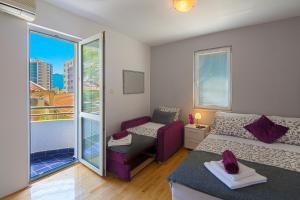 Diamond Apartments, Apartments  Budva - big - 6