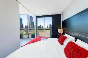 Aura on Flinders Serviced Apartments, Residence  Melbourne - big - 68