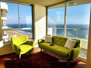 Exclusivo Departamento Con Vista Al Mar, Appartamenti  Lima - big - 2