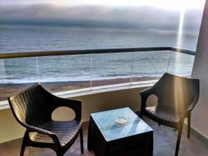 Exclusivo Departamento Con Vista Al Mar, Appartamenti  Lima - big - 16