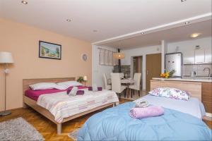 Apartments Garmaz, Ferienwohnungen  Podgora - big - 67