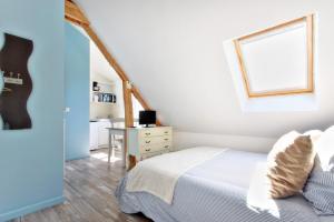Les Gîtes d'Emilie, Apartments  Melesse - big - 6