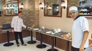 JMM Grand Suites, Apartmanhotelek  Manila - big - 54