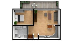 Apartamenty EchoDom Szlak 77, Апартаменты  Краков - big - 43