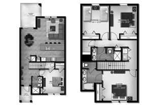 Four-Bedroom Apartment