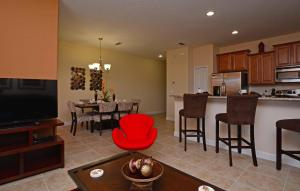 Paradise Palms Four Bedroom House 208, Prázdninové domy  Kissimmee - big - 33